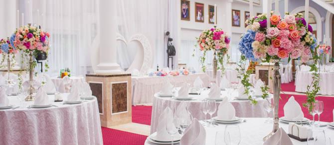 Украшение ресторана на свадьбу Студия декора Анастасии 98