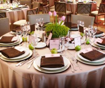 Украшение свадебных столов фото